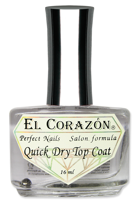 "картинка El Corazon Perfect Nails №417 Верхнее покрытие сушка ""Quick Dry Top Coat"" 16 мл от магазина El Corazon"