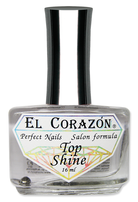 "картинка El Corazon Perfect Nails Верхнее покрытие №410 ""Top Shine"" 16 мл от магазина El Corazon"